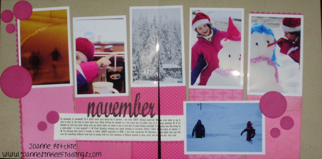 2011 - Double Page Spread of Month - JIF