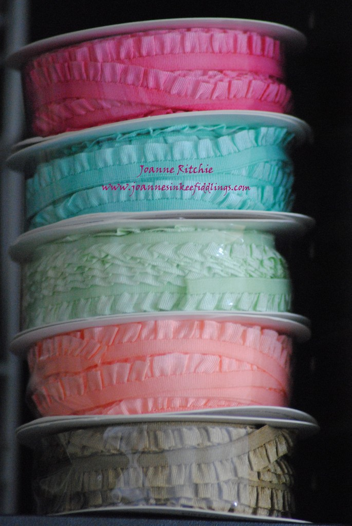 Ribbon Shares - In-Color Ruffles