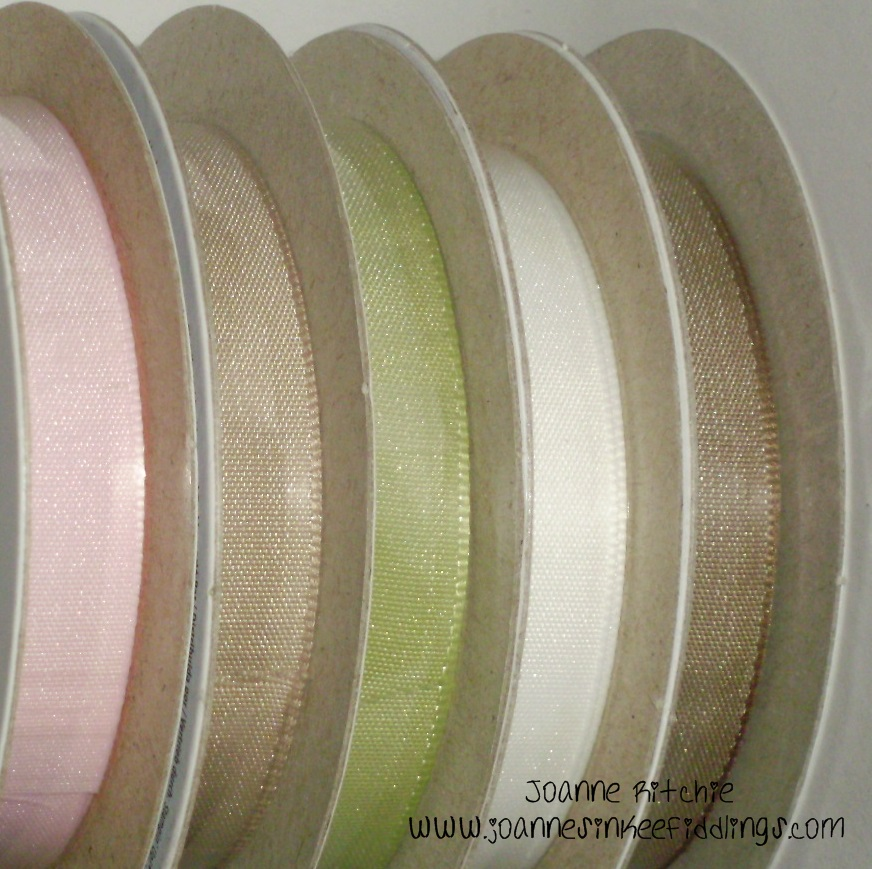 "3/8"" Taffeta Ribbon Shares"