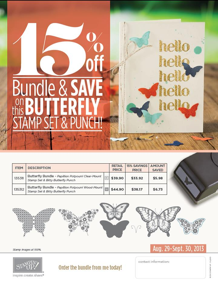Butterfly Bundle - catch it if you can!