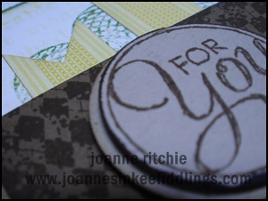 Mojo312 - JIF - Chalk Talk Gingham Garden