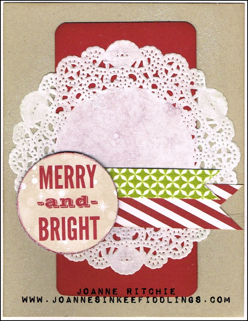 Merry and Bright - Crumb Cake - JIF