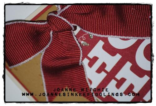 Mojo 318 - Cherry Cobbler Bow - JIF