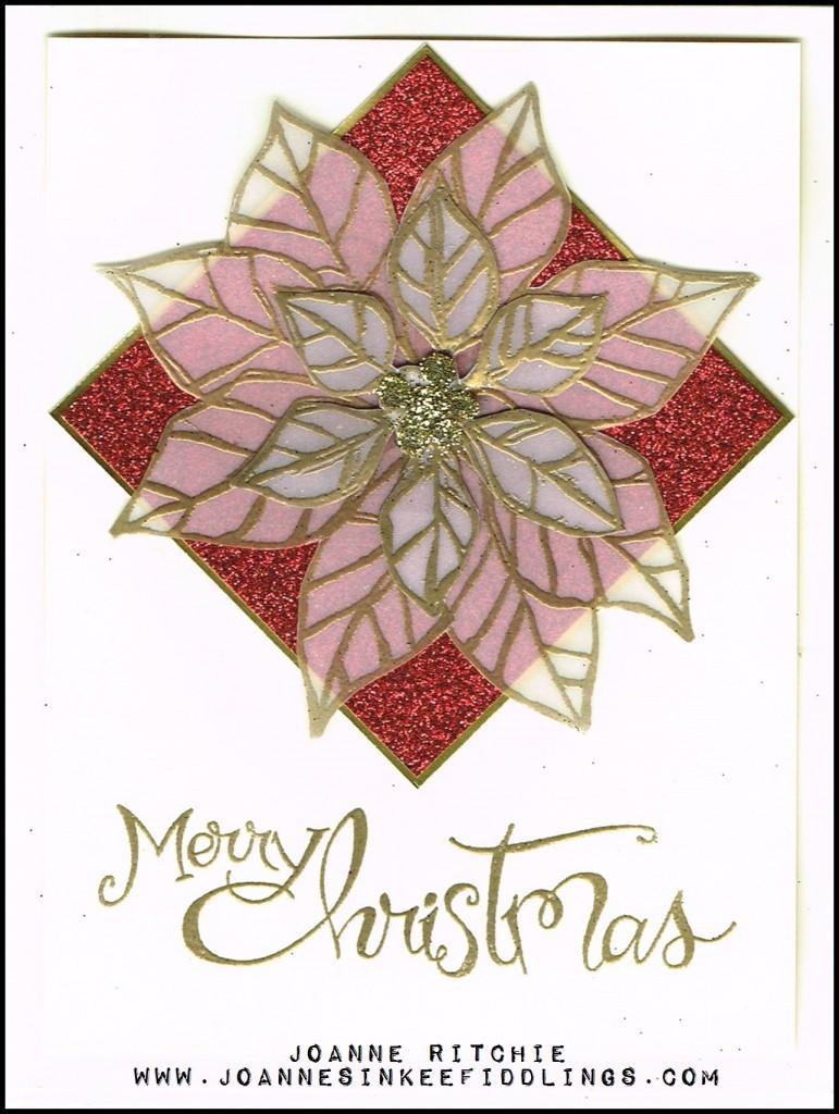 Joyful Christmas - Red - JIF