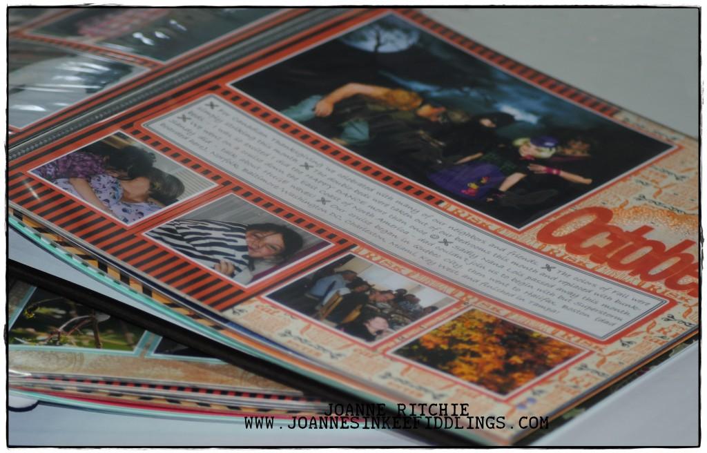 2012 - Scrapbook Albums - JIF