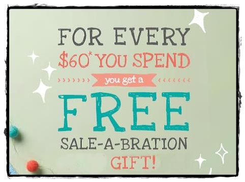 Sale-a-Bration Benefits!