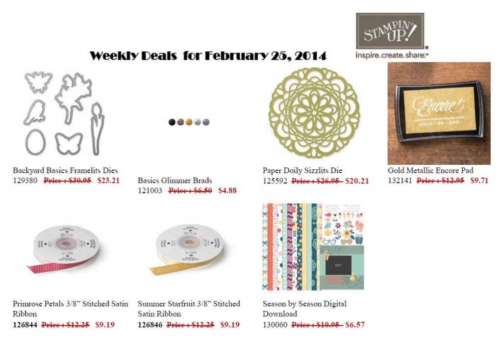 This Week's Sale Items