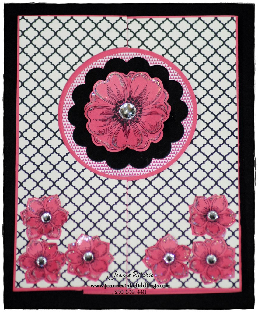 Card Frame - Flowers - Full Front