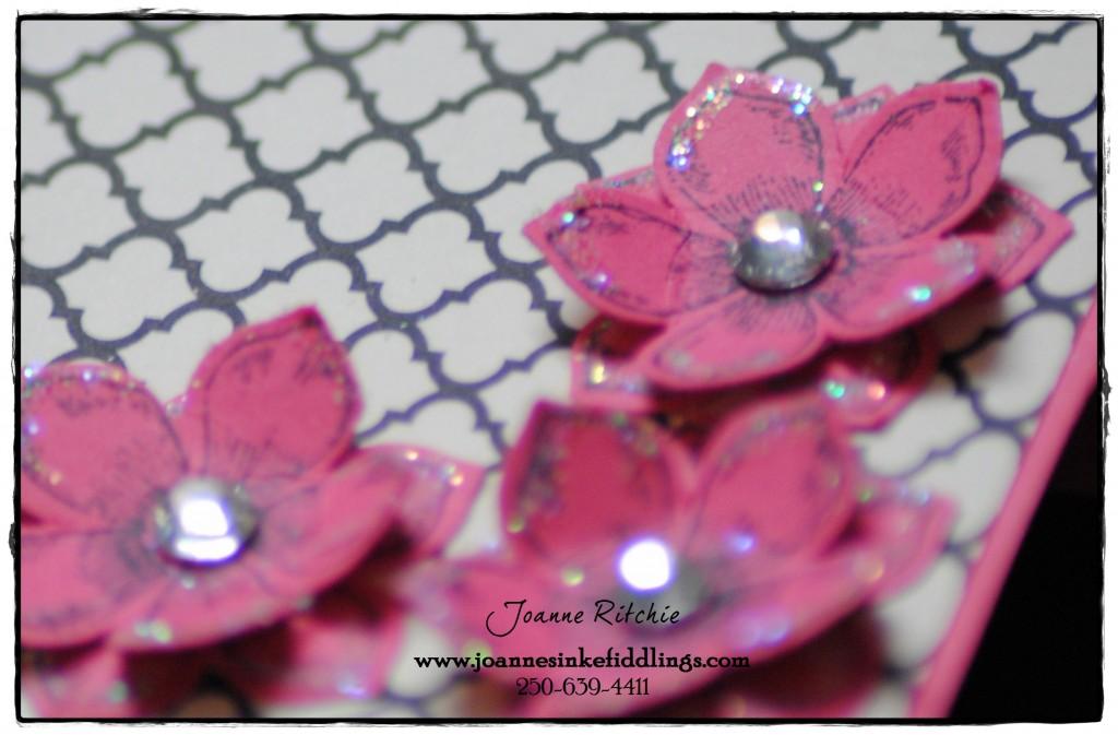 Card Frame - Flowers - Pretty Petitees