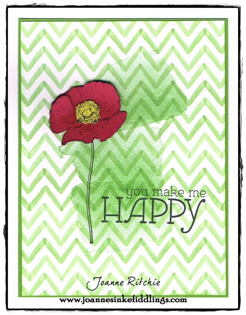 Happy Watercolor - Red Poppy - JIF