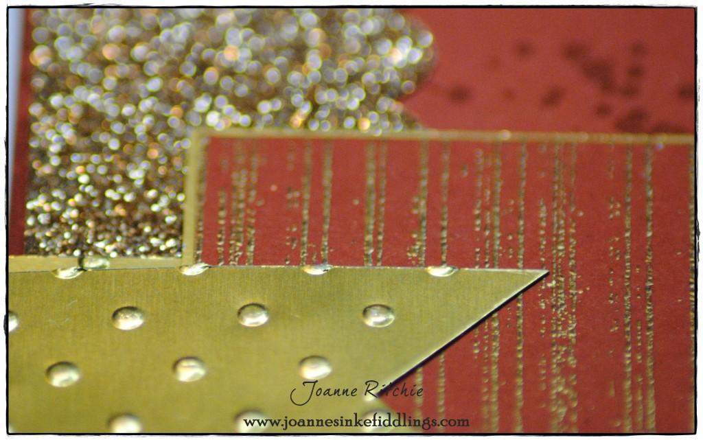 Mojo 341 - Chalktalk Grunge - Cajun Craze - Gold Foil and Champagne Glimmer - JIF