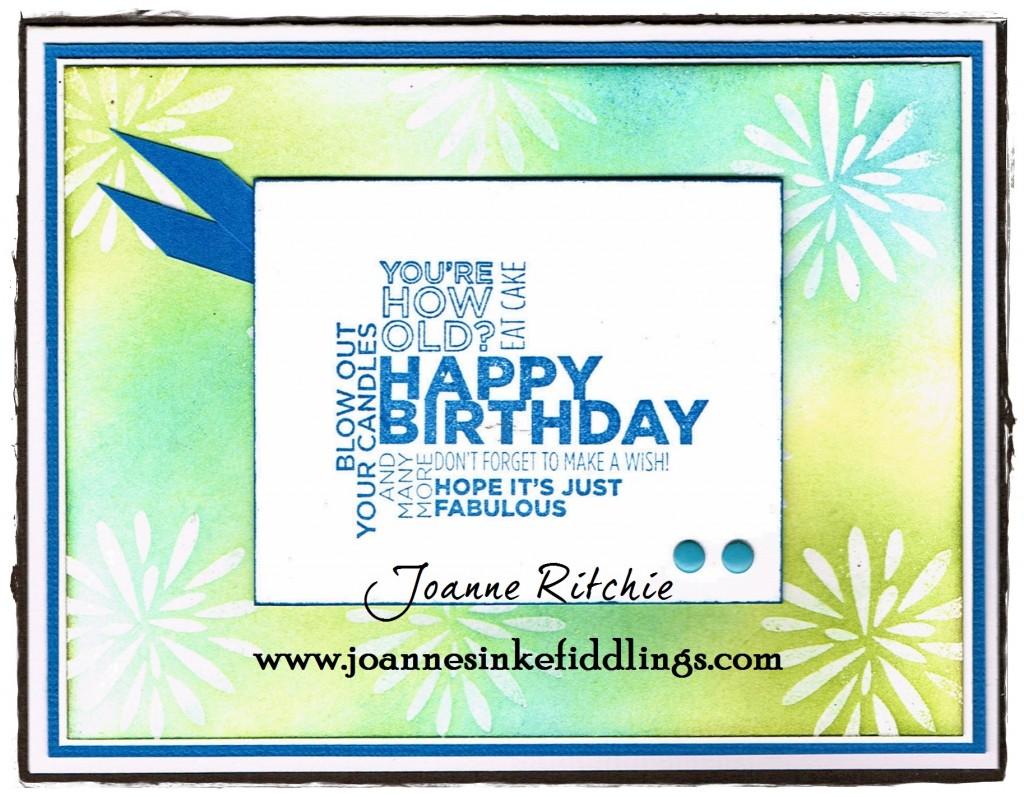 Simple Stems - Happy Birthday - JIF