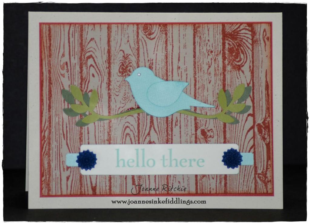 Hardwood - Hello Blue Bird - JIF