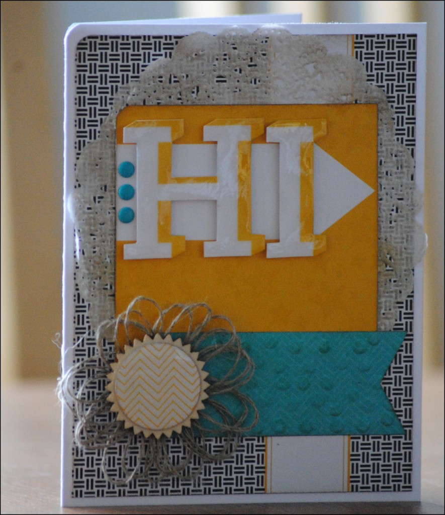 Mojo Monday 348 - Hi Project Life - JIF