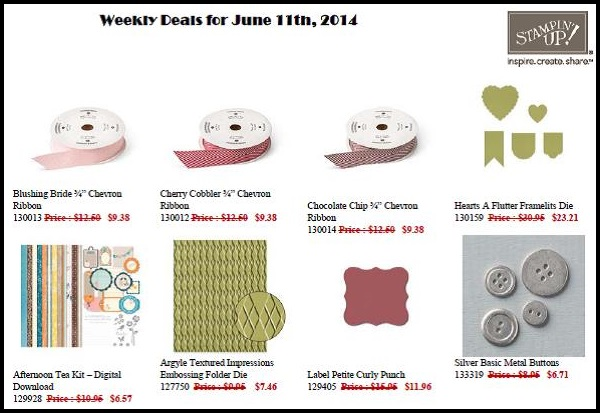 Weekly Deals for June 11