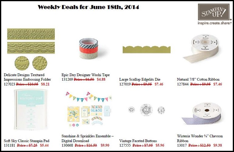 Weekly Deals June 18