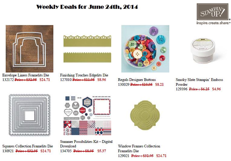 Weekly Deals June 24