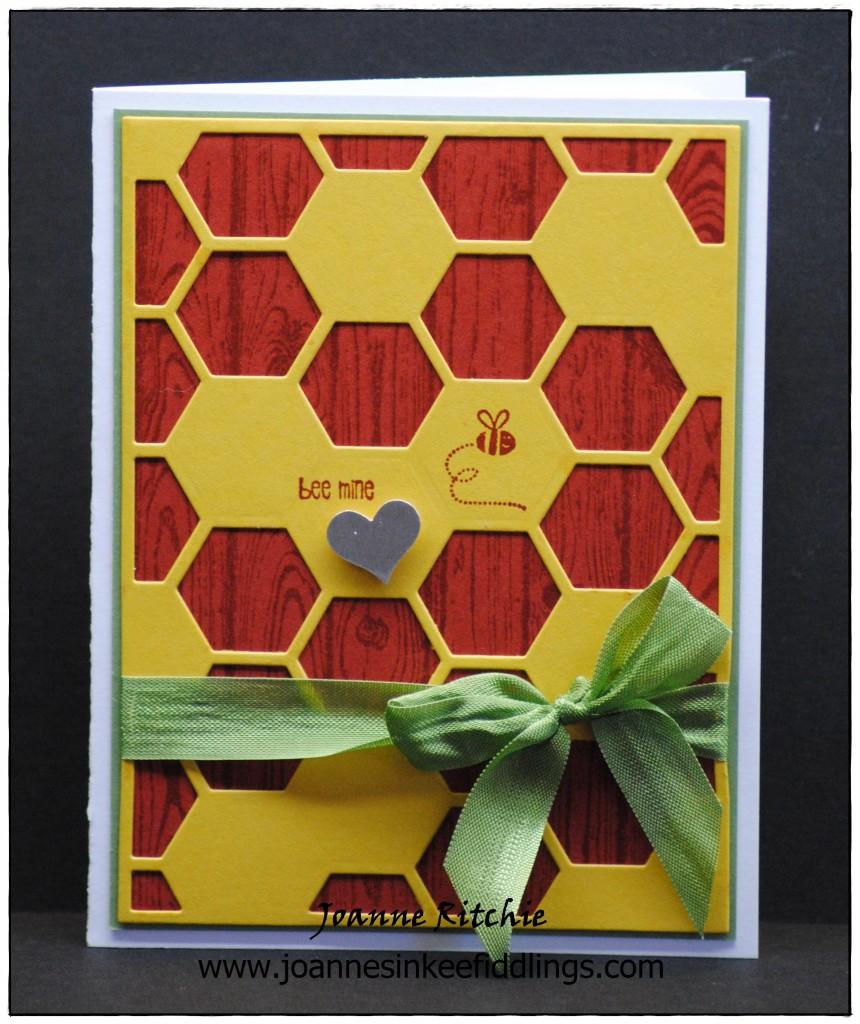 Bee Mine - Hello Honey Hexagons - JIF