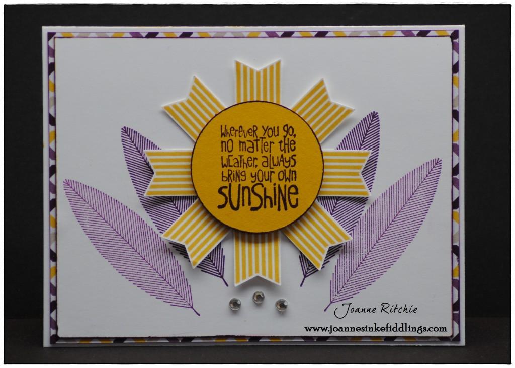 Ray of Sunshine - Happy Hooray - JIF