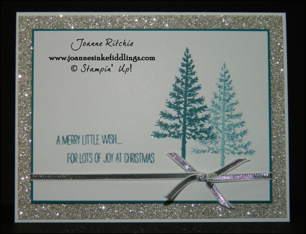 Festival of Trees - Silver Glimmer - JIF