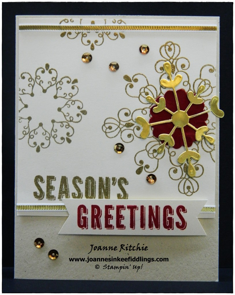 Letterpress Winter - Seasons Greetings - JIF