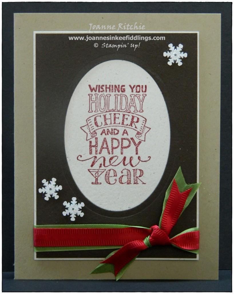 Mingle All the Way - Holiday Cheer - JIF