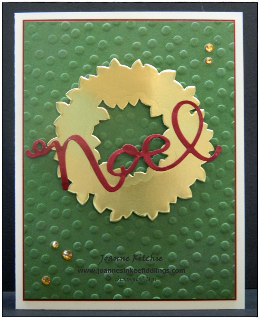 Wondrous Wreath - Noel - JIF
