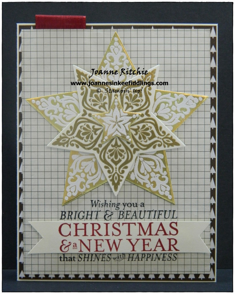 Bright and Beautiful - Heat Embossing - JIF