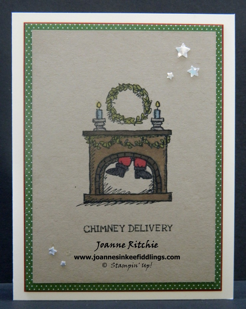 Get Your Santa On - Chimney Delivery - JIF