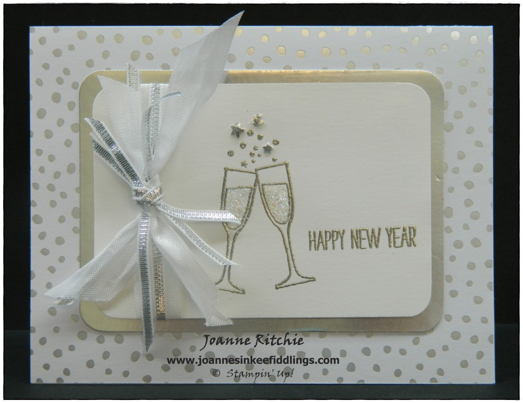 Making Spirits Bright - Silver Embossing - JIF
