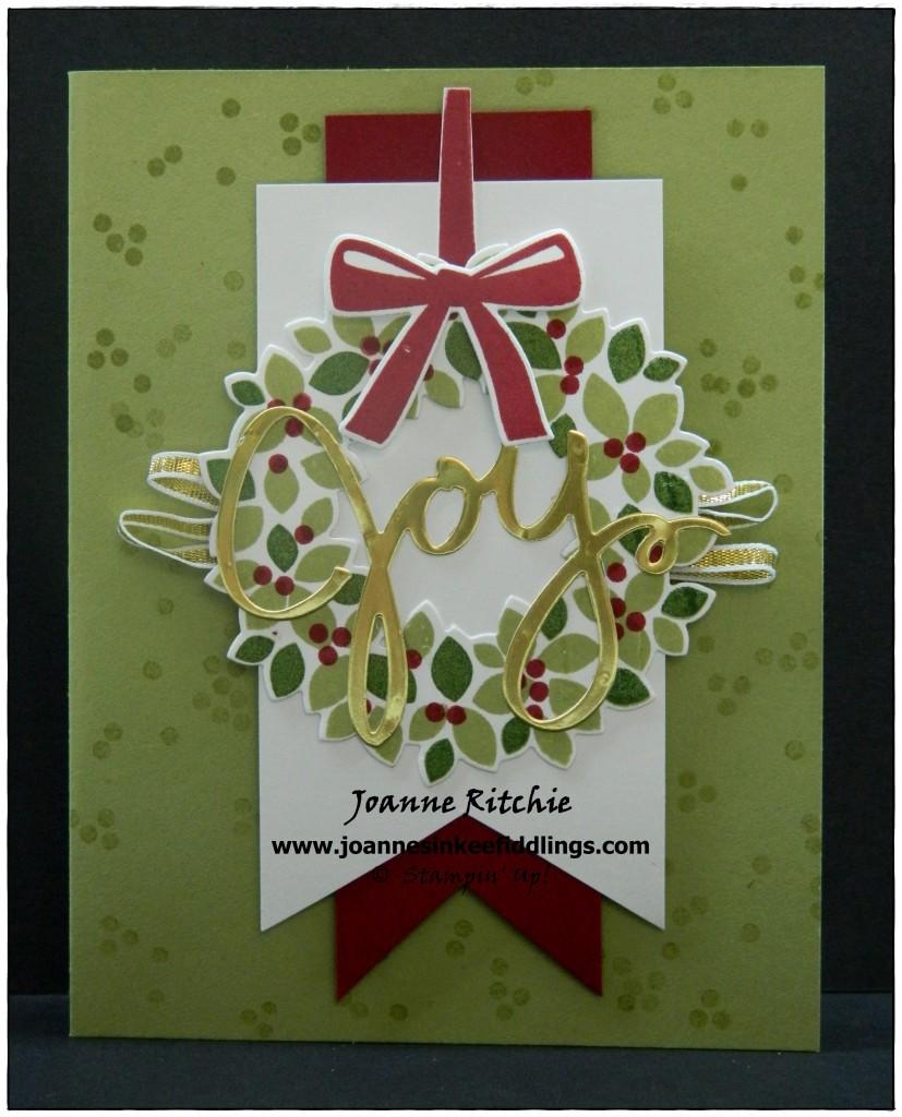Wondrous Wreath - Joy - JIF