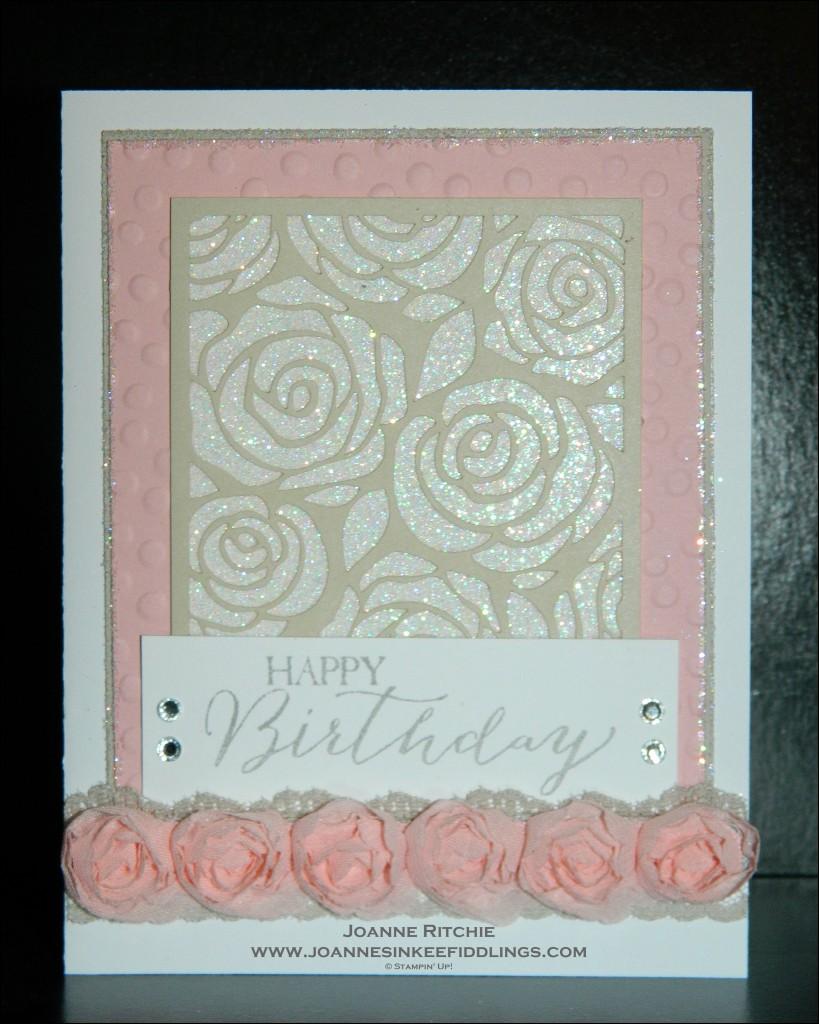Artisan Embellishments - Blushing Bride - JIF