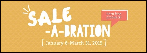 Sale-a-Bration Time!