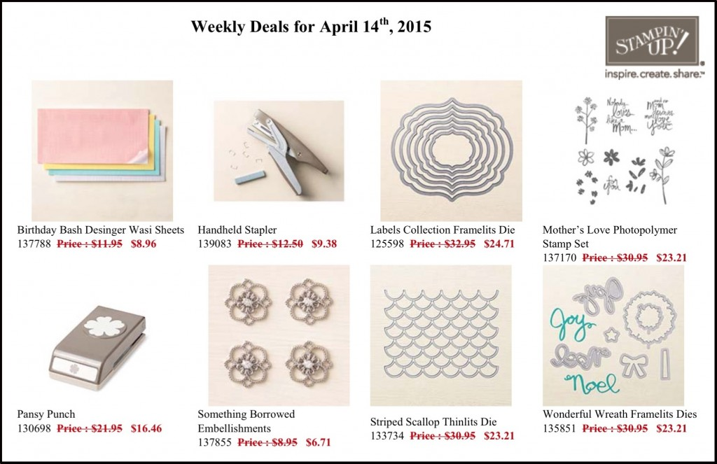 Weekly Deals April 14