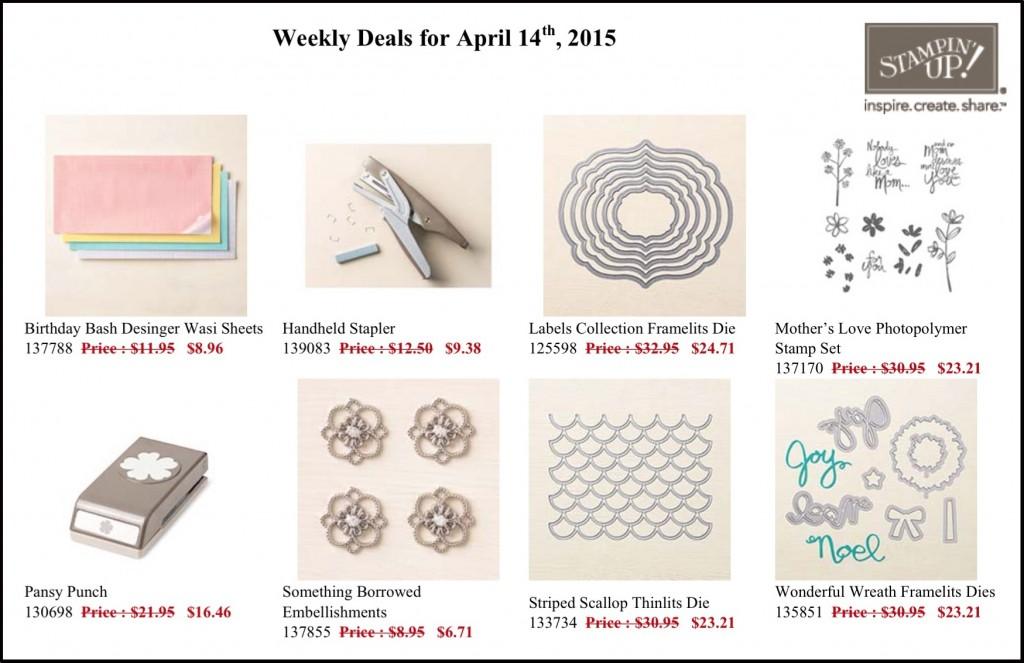 Weekly Deals April 14