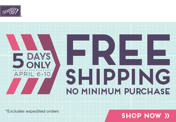 FREE SHIPPING but this week only!
