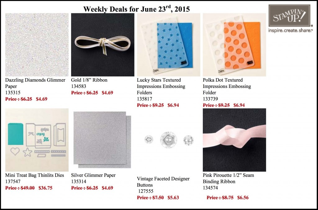 Weekly Deals June